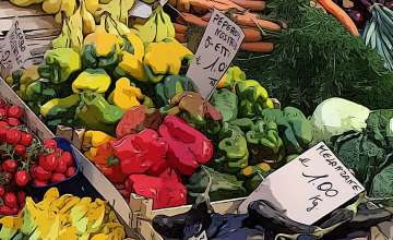 Weekly Farmers' Markets on Lake Garda