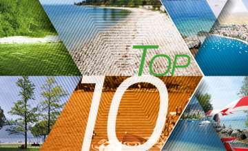 TOP 10 Beaches on the Eastern and Northern Shores of Lake Garda