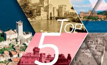 TOP 5 Castles at Lake Garda